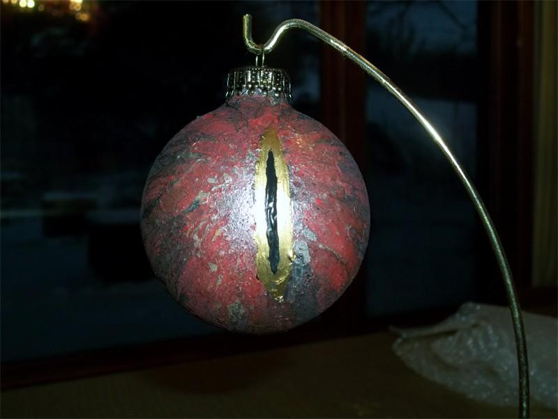 Eye of Sauron Ornament