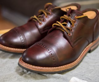Dye Your Shoes (or Other Leather Goods)