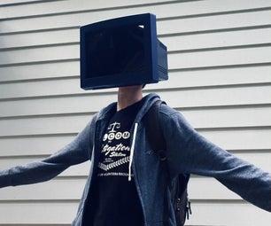 TV Head Costume