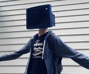 TV Head Costume