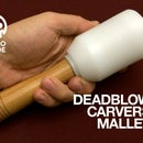 UHMW Polymer Carver Deadblow Mallet