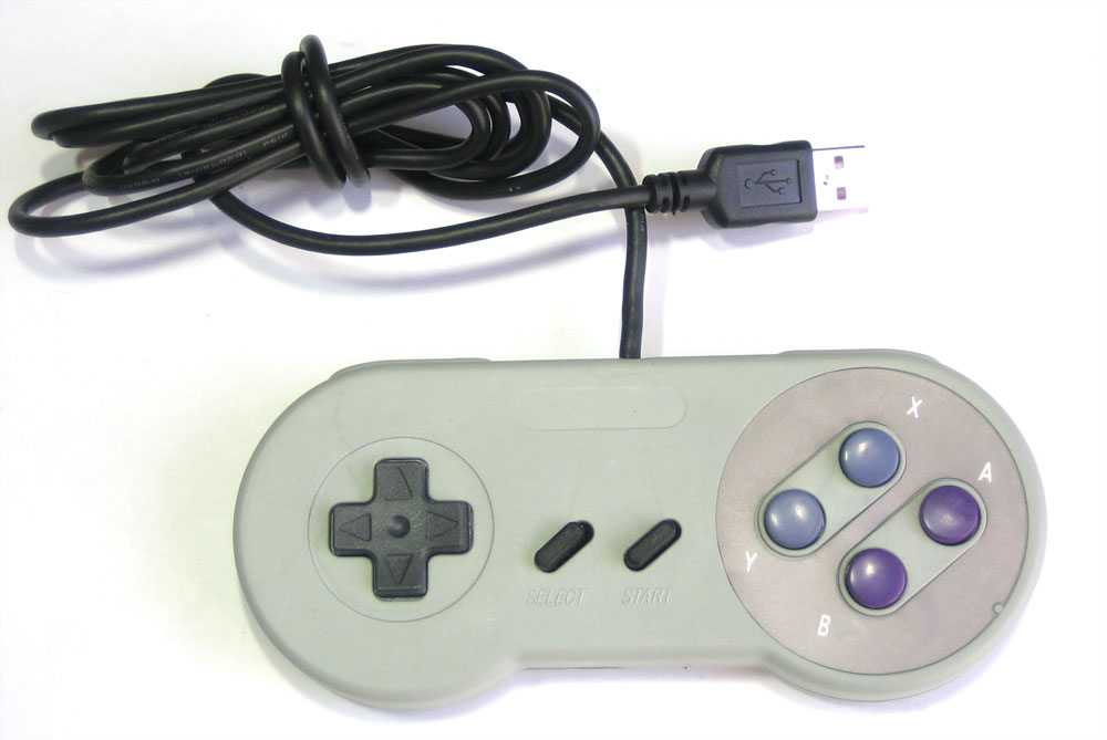 USB Game Pad With Tilt-accelerometer Mouse