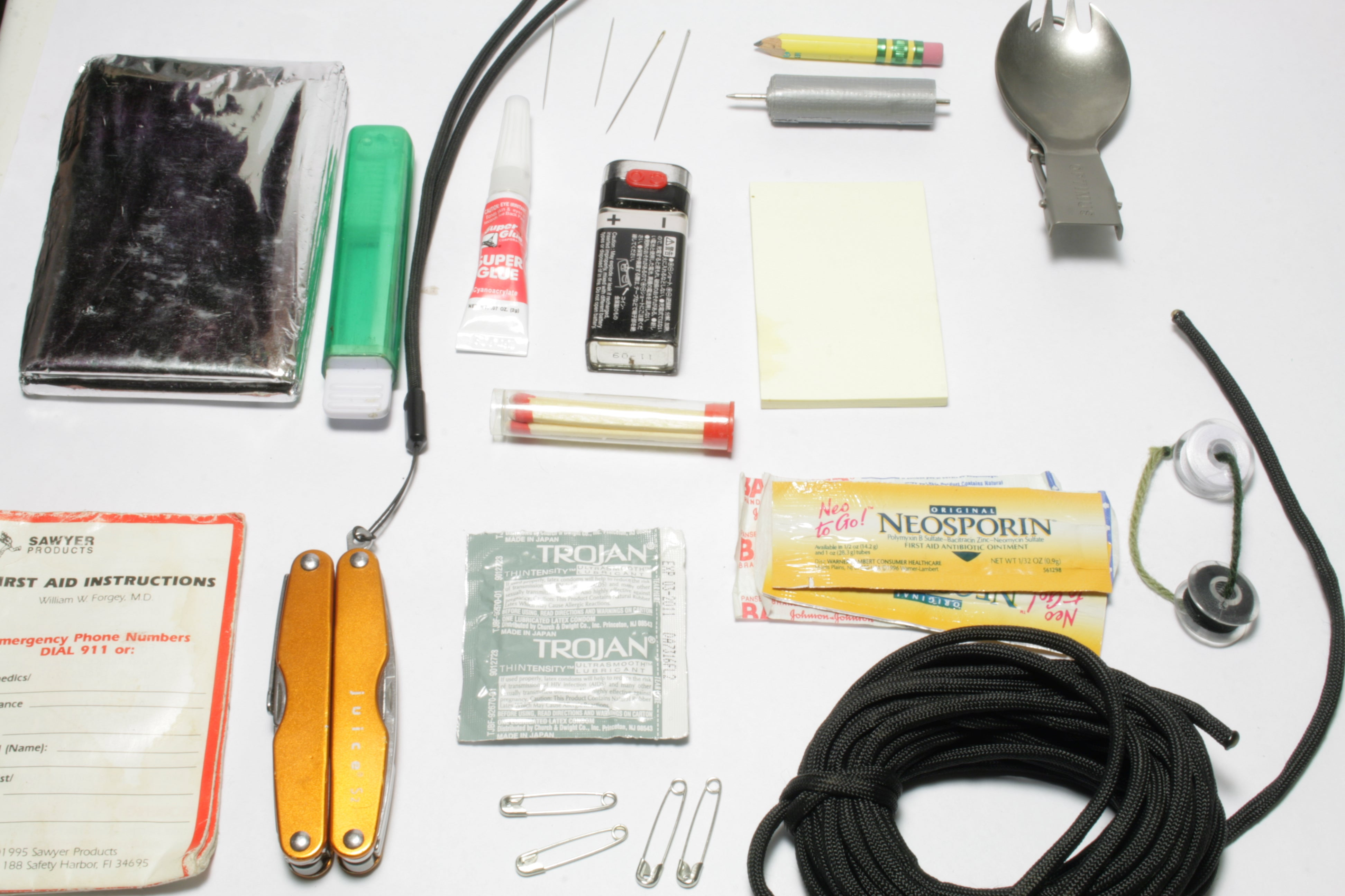 Urban Survival Kit : 14 Steps (with Pictures) - Instructables