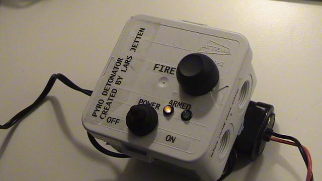 Detonator box Ignition Fireworks Pyro box electronic igniter