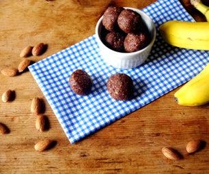 Chocolate Banana Bread Snack Balls