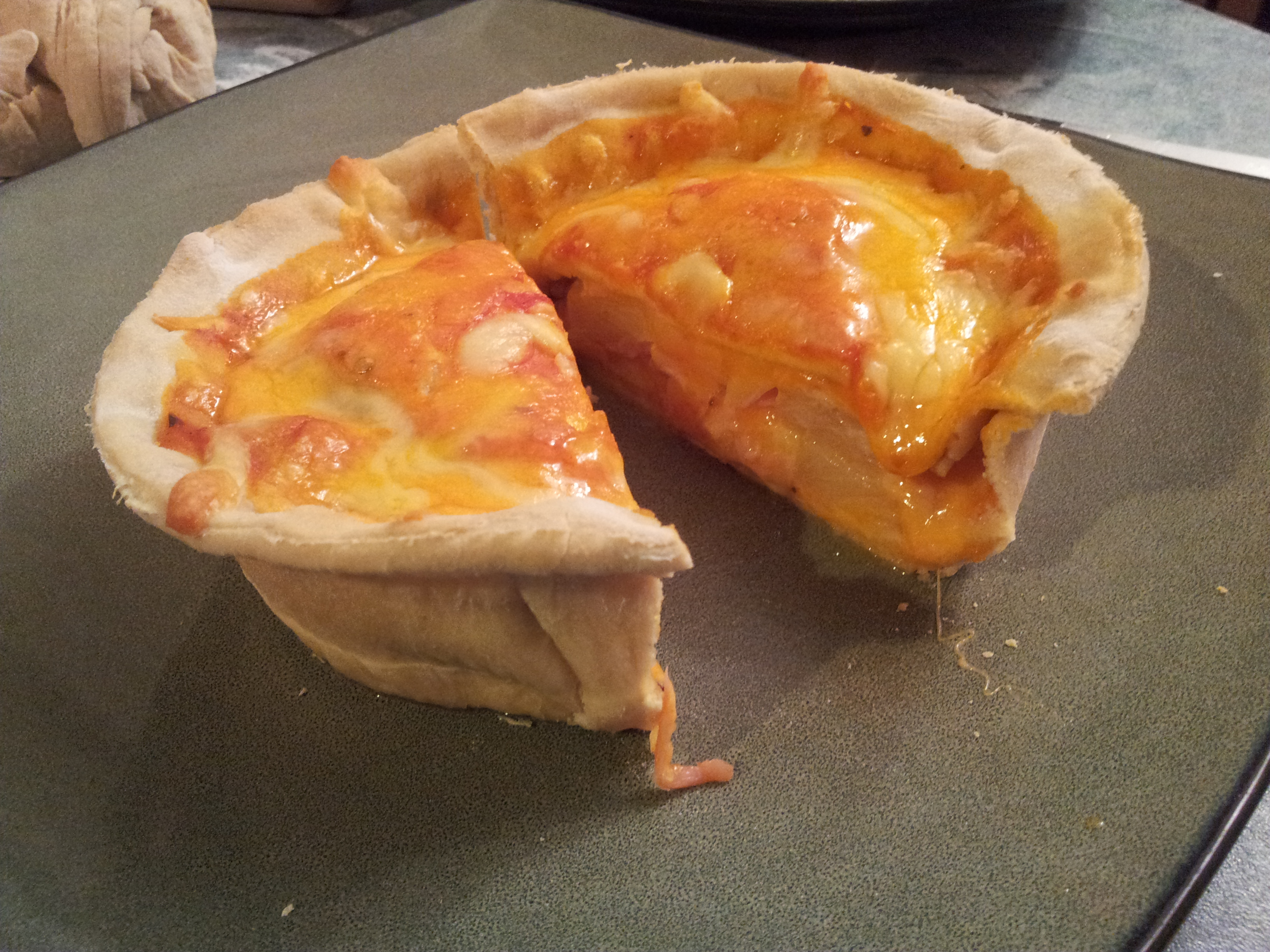 Personal Pizza Pot Pie