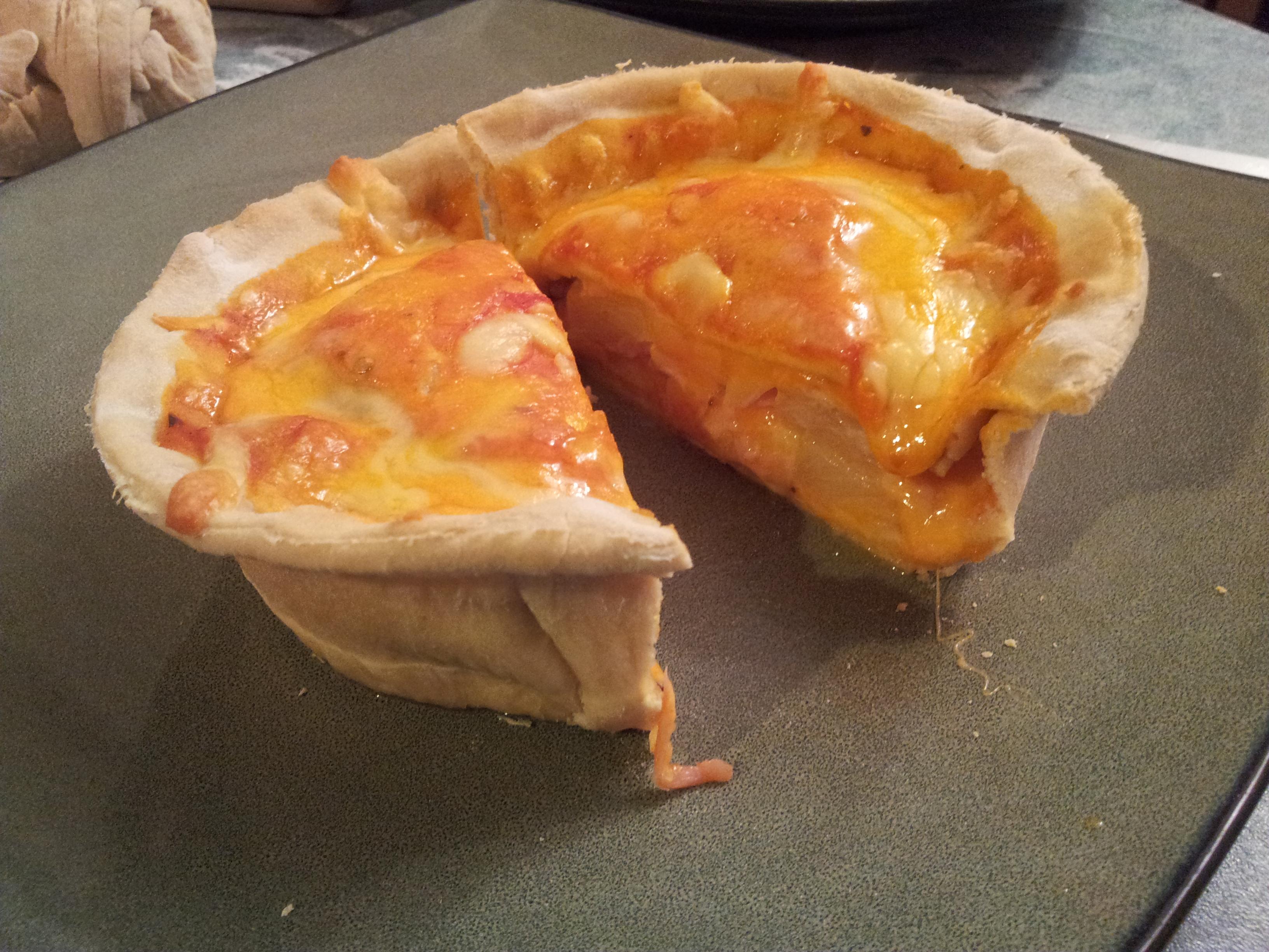 Personal Pizza Pot Pie