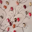 NUTSHELL BIRDS IN a BARE TREE