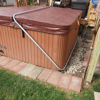 Home Made Spa Cover Lift