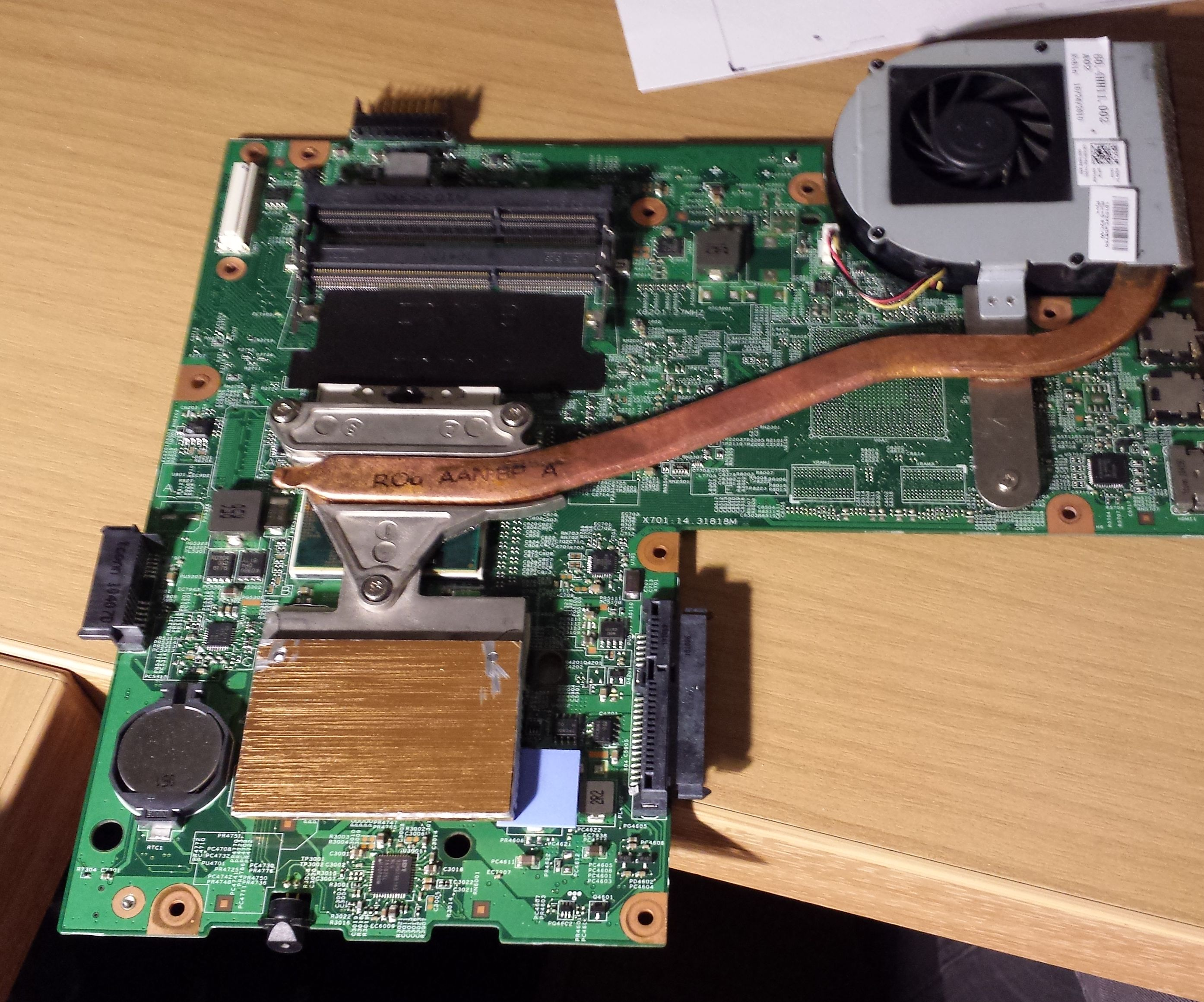 Upgrade CPU Cooling on DELL Inspiron 15R 5010