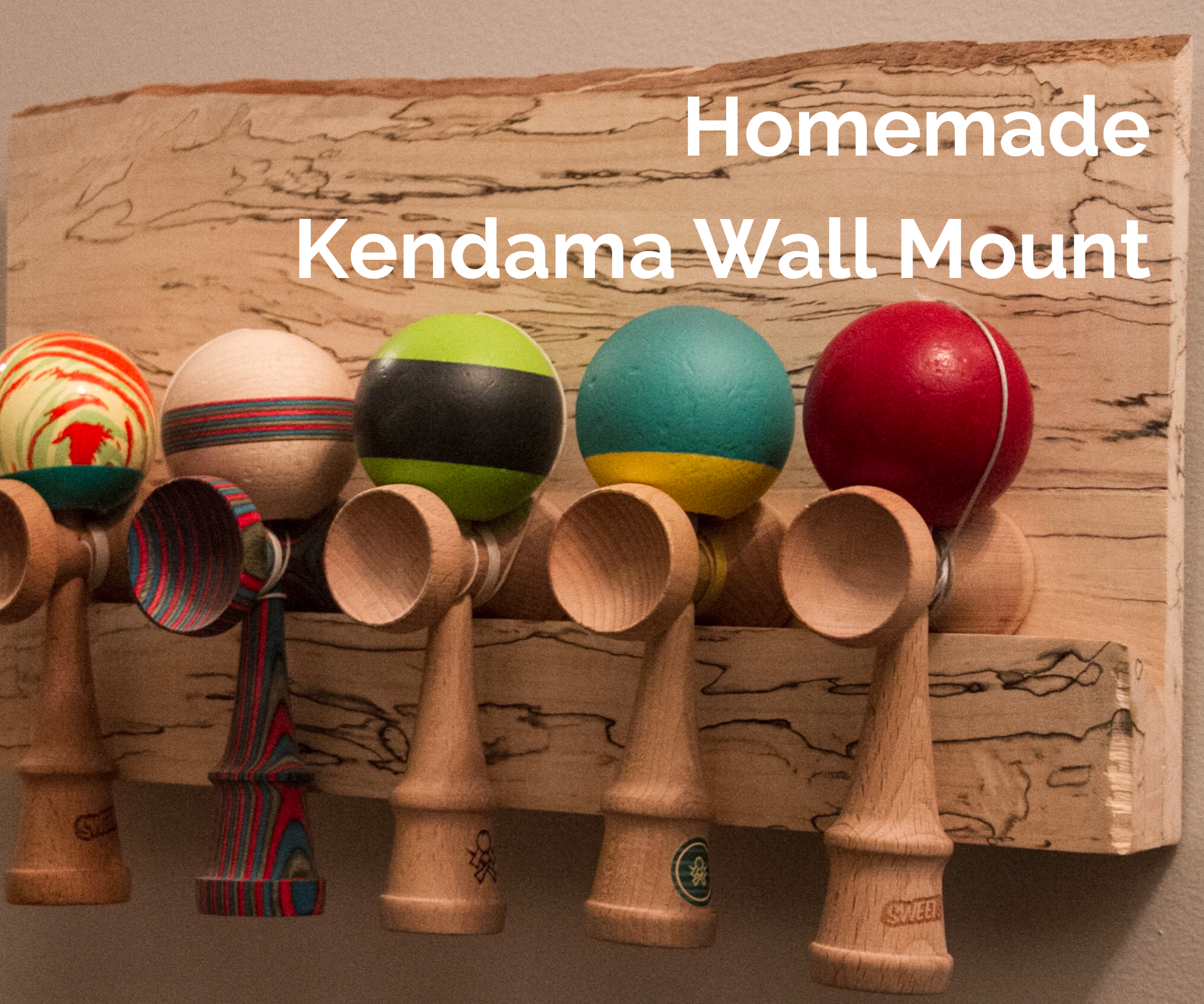DIY Kendama Wall Mount