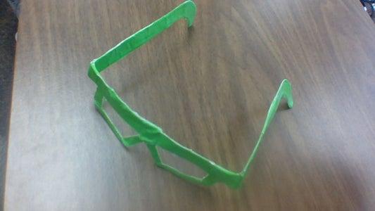 Tape Glasses DIY