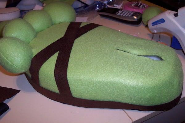 How to Make Monster Feet