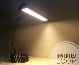 Build Your Own Portable COB LED Desk Lamp!