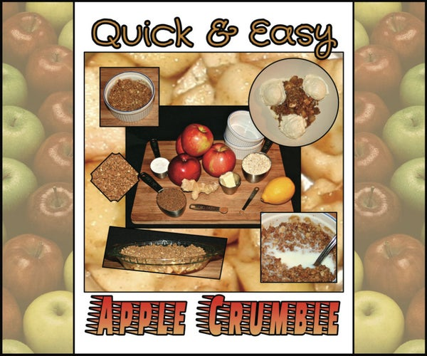 Quick and Easy Apple Crumble