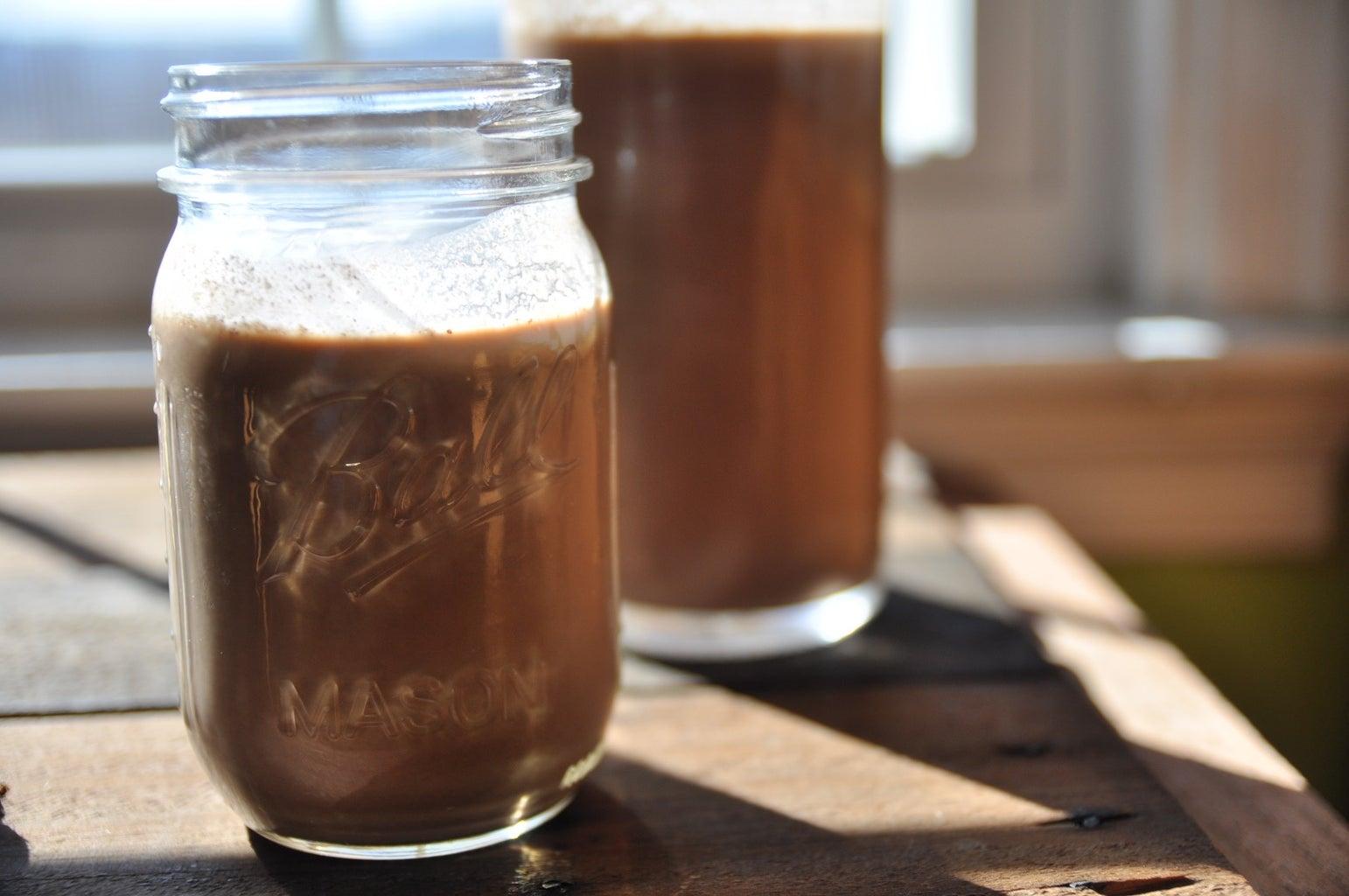 How to Make Chocolate Hazelnut Milk   Drinkable Nutella