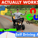 How You Can Make a Fully Autonomous Self Driving Vehicle With Ai, Python and a Camera on a Budget