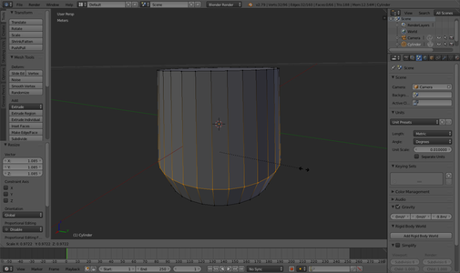 Mold the Cylinder