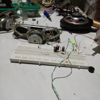 How to Make D882 Double Transistor to Audio Amplifier