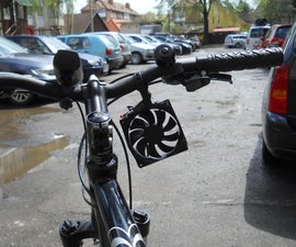 Bicycle Cell Phone Charger (Wind Turbine With Build in Battery)
