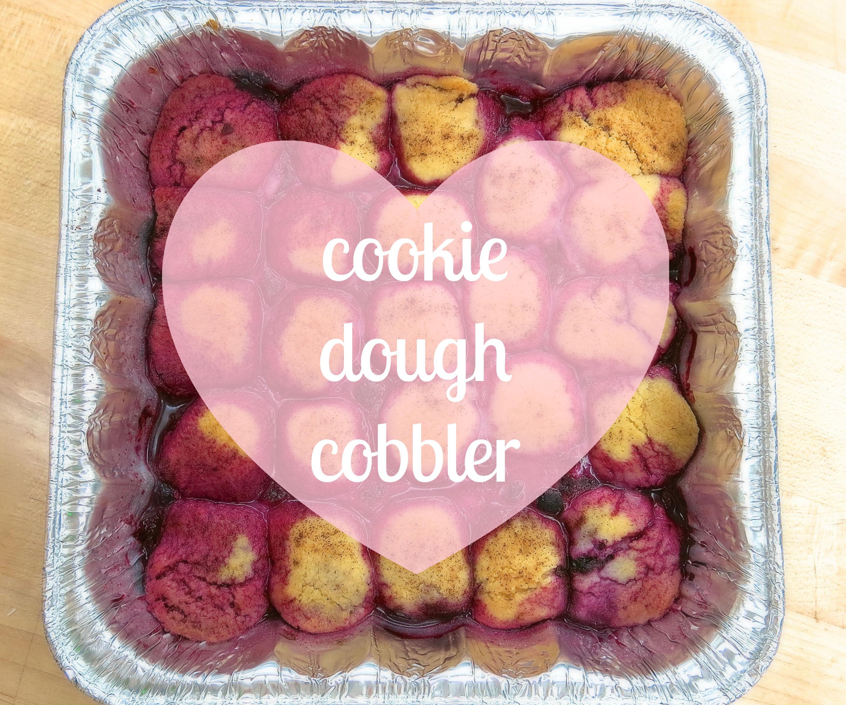 Cookie Dough Cobbler