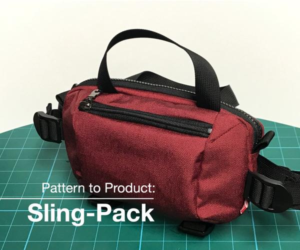 Sling Bag/Waist Bag - Pattern to Product