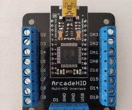 ArcadeHID - Multi-HID Arcade Interface