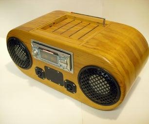 5 Speaker Car Head Unit Boombox