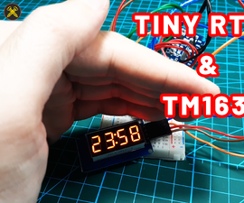 How to Use Tiny RTC - Real Time Clock Module With Arduino and TM1637.h Library