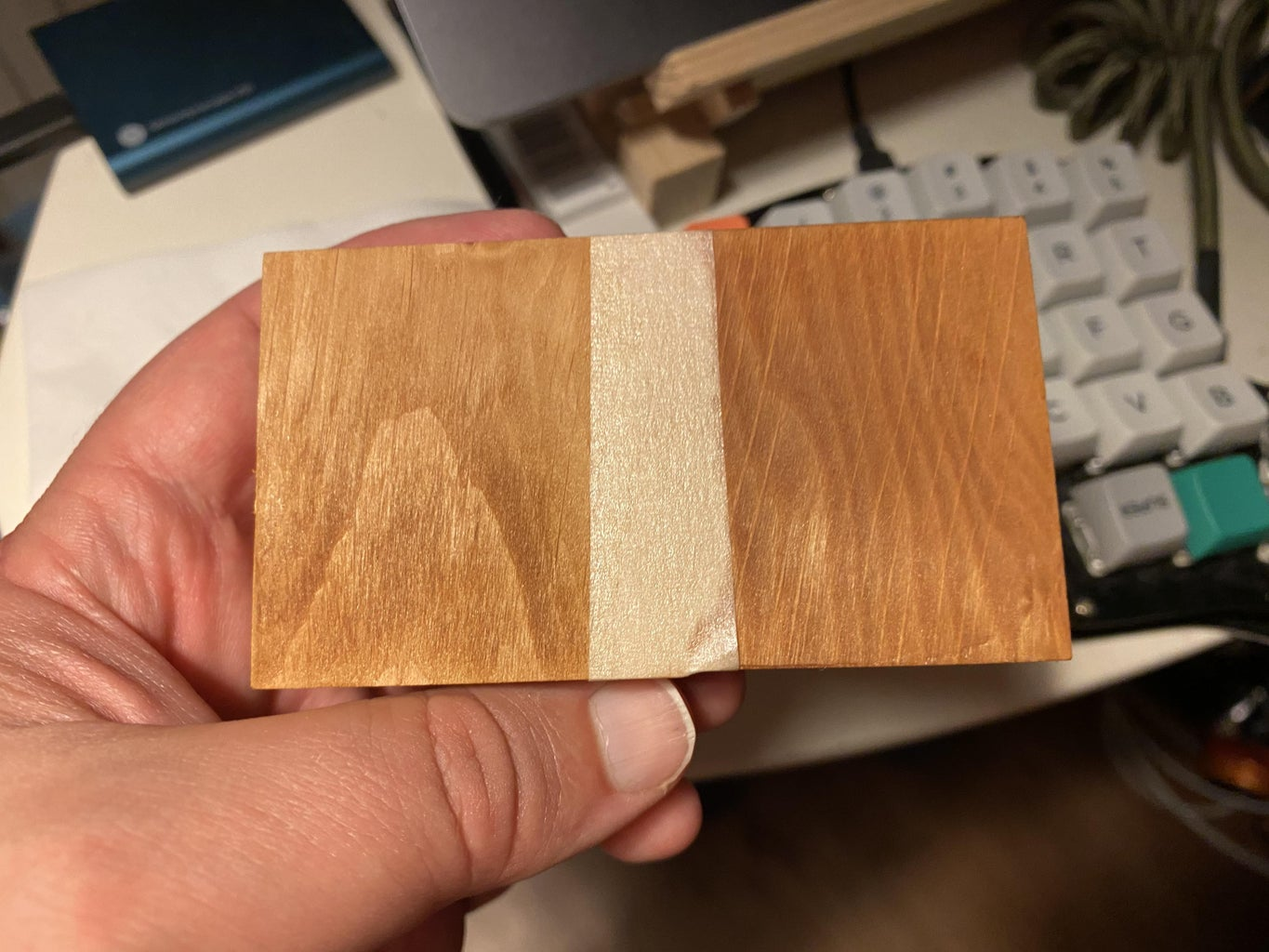 Testing Your Finish on Scrap