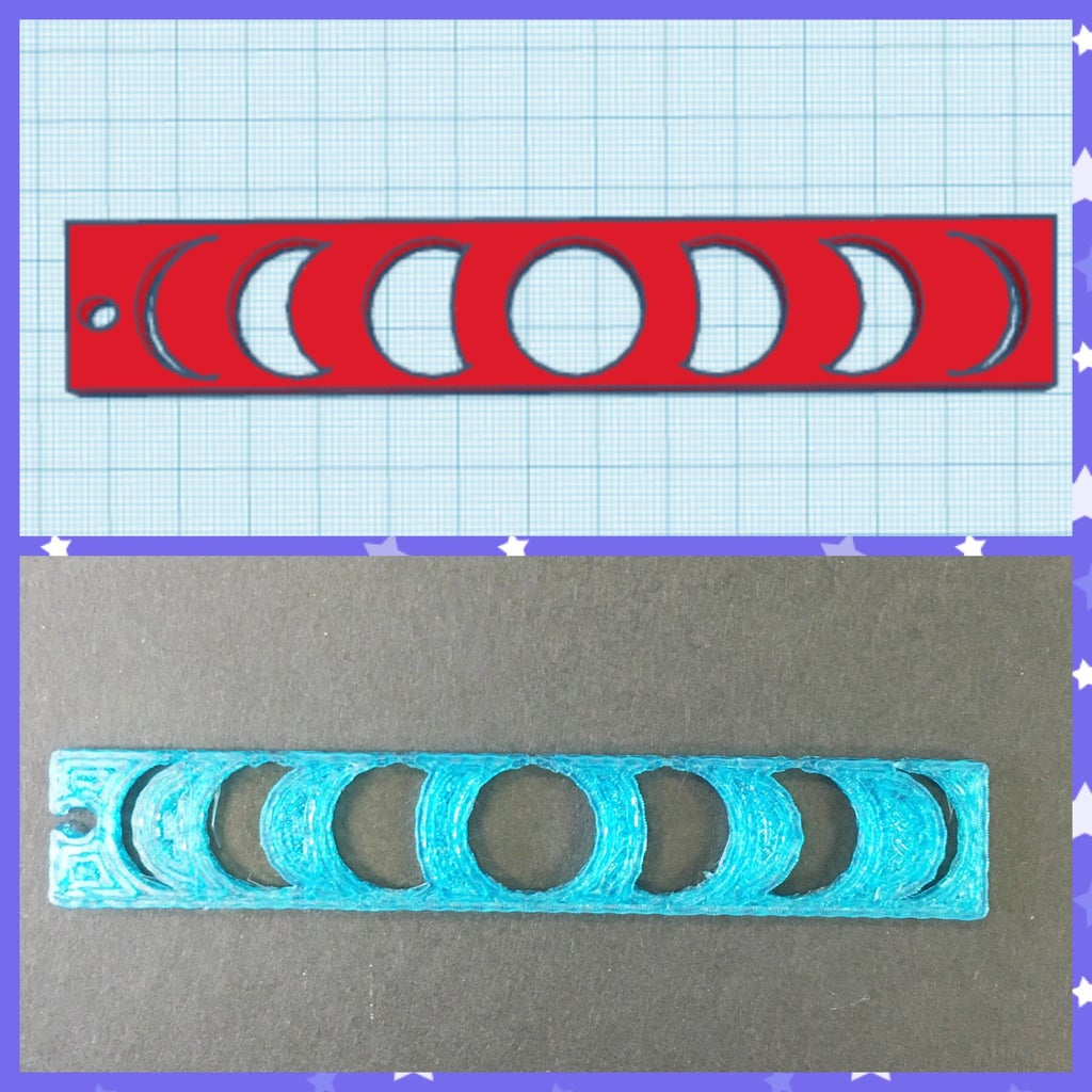 TinkerCAD: Moon Phases