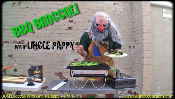 BBQ Broccoli With Uncle Pappy