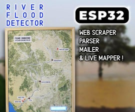 ESP32 Scraper-parser-mailer and Live Mapper
