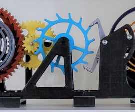 How Does a Watch Work? (Watch Escapement Desk Toy)