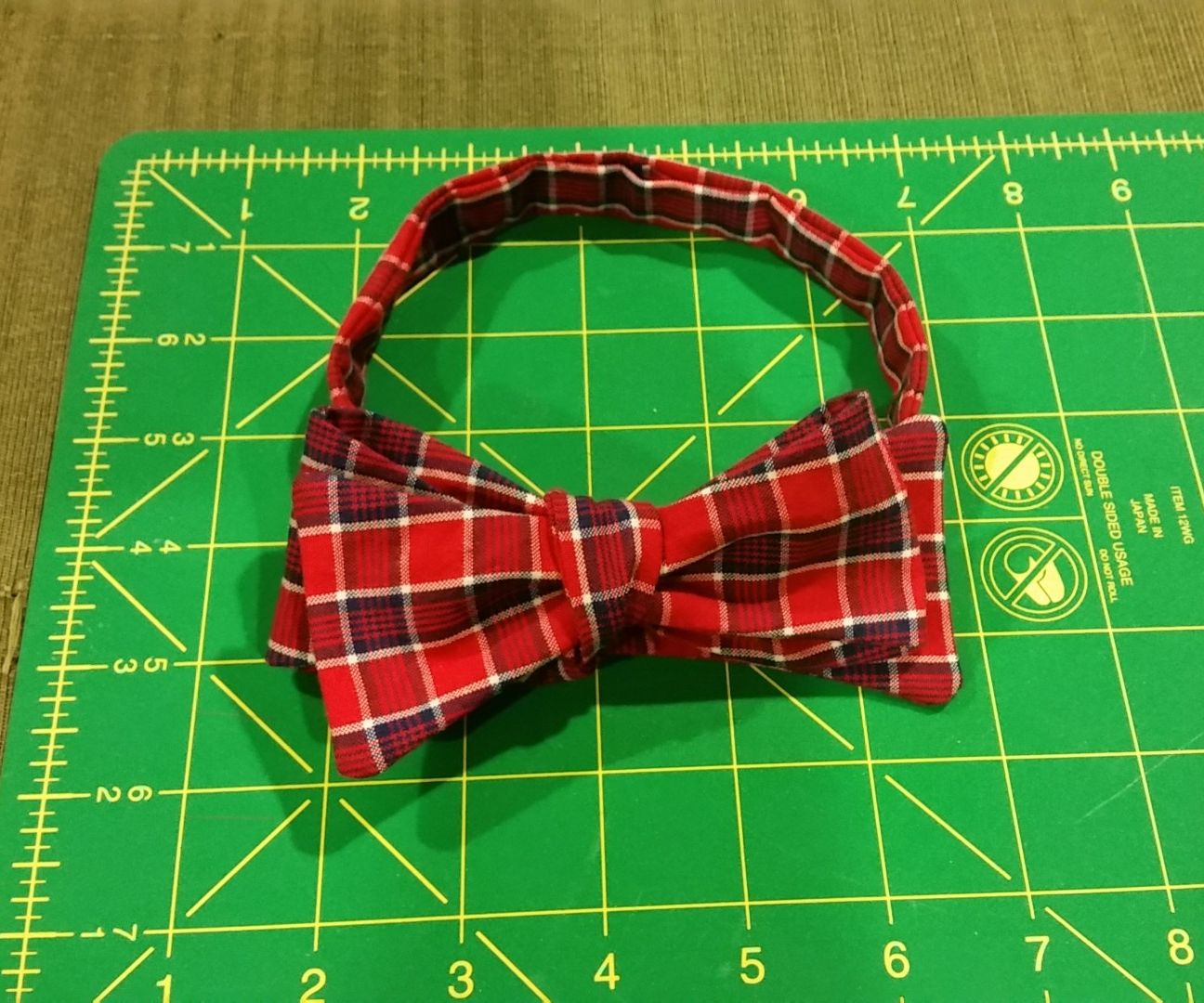 How to make a custom bow tie