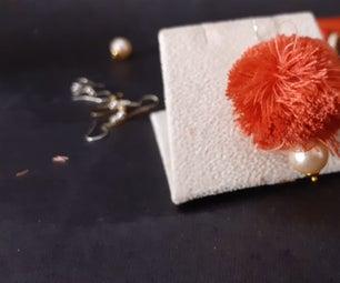 Easy Thread Jewelry (earrings)