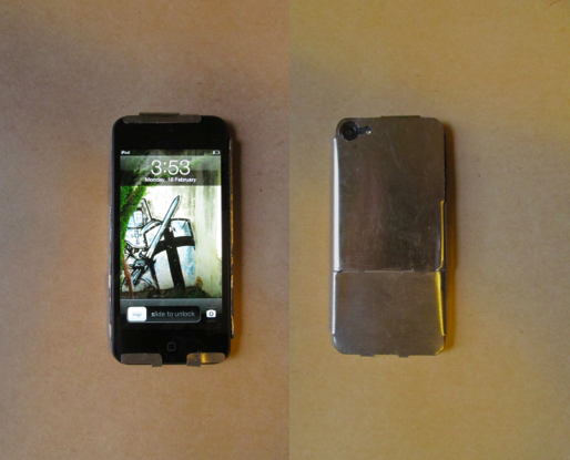Sheet Metal iPod Case