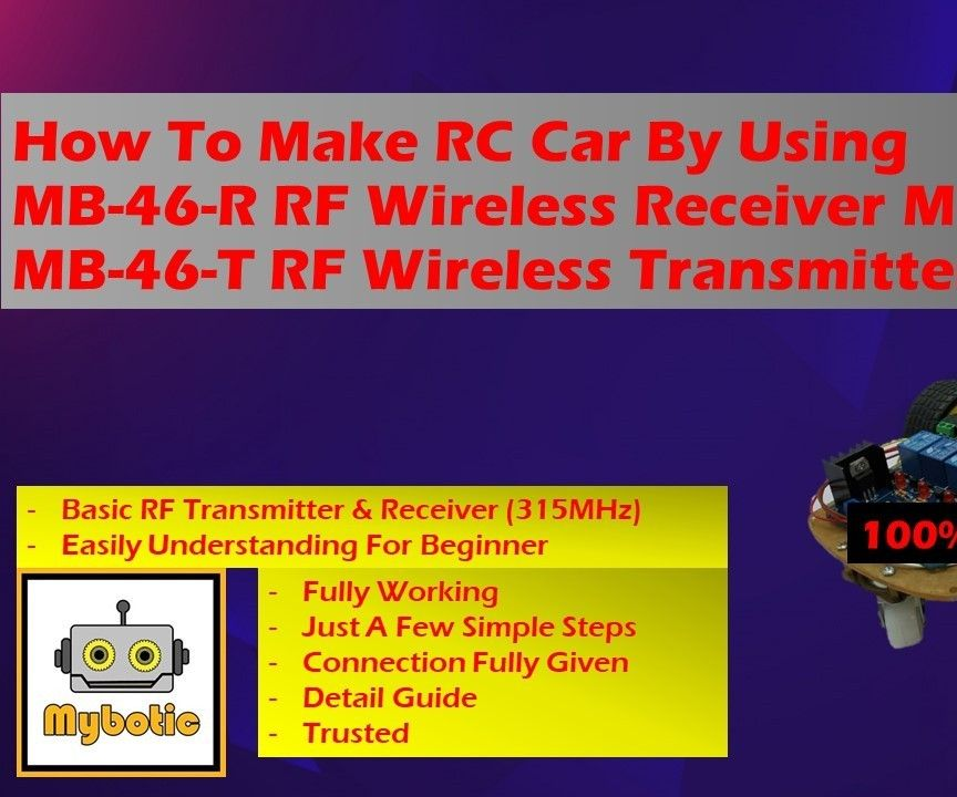 How to Make DIY Wireless RC Car Without Arduino Code