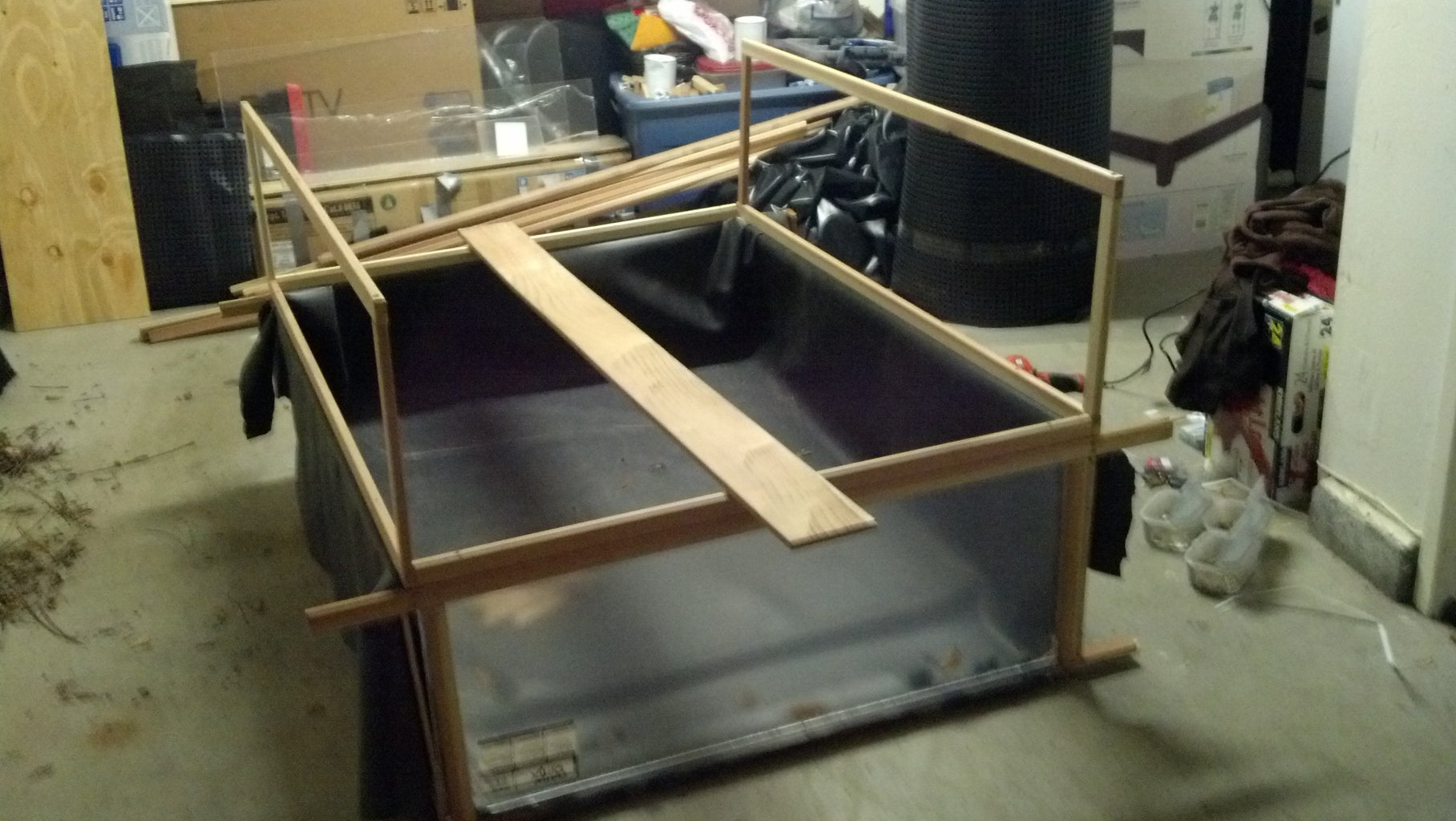 Construct the Greenhouse Frame