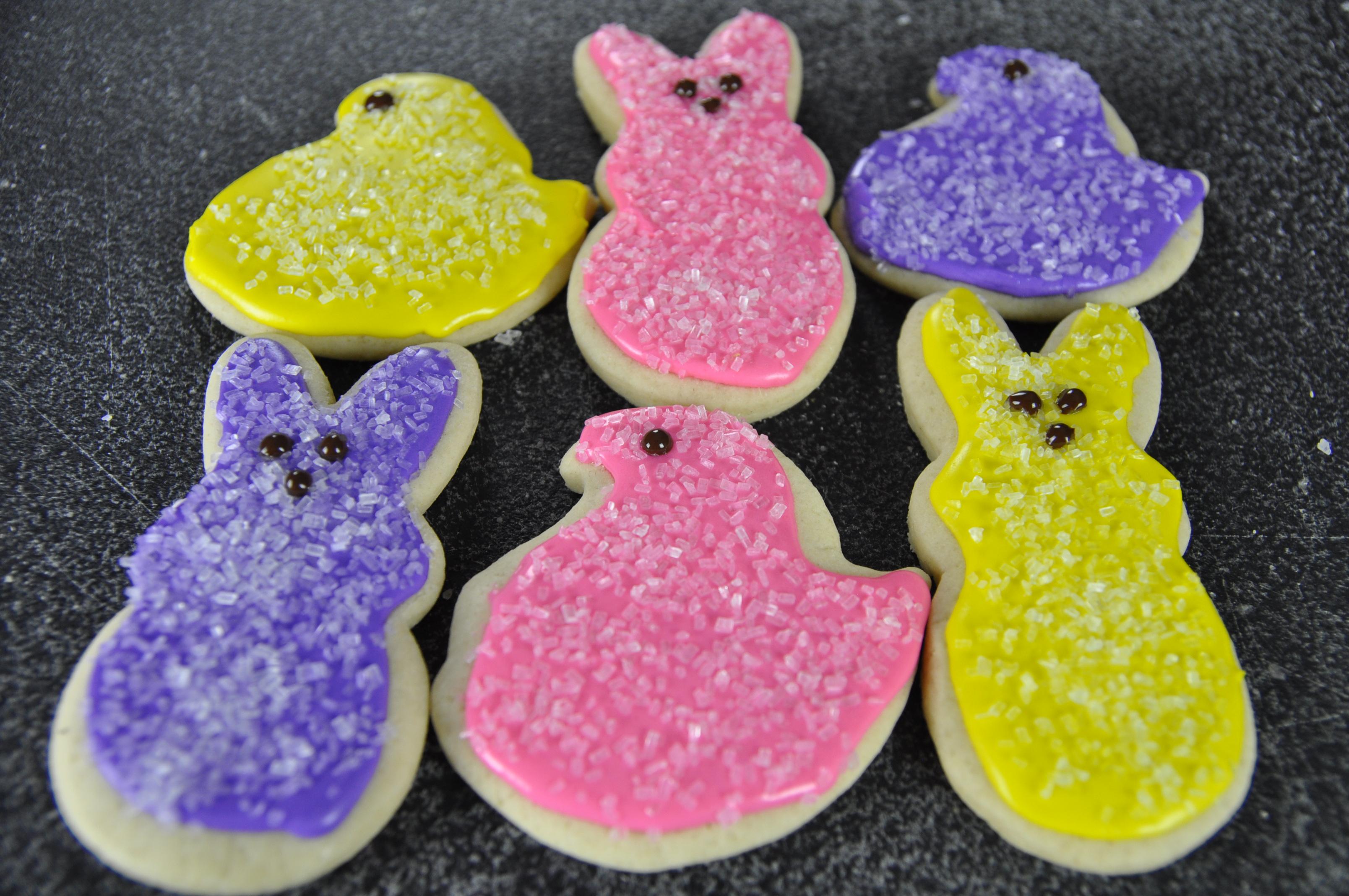 How To Make Peep Cookies