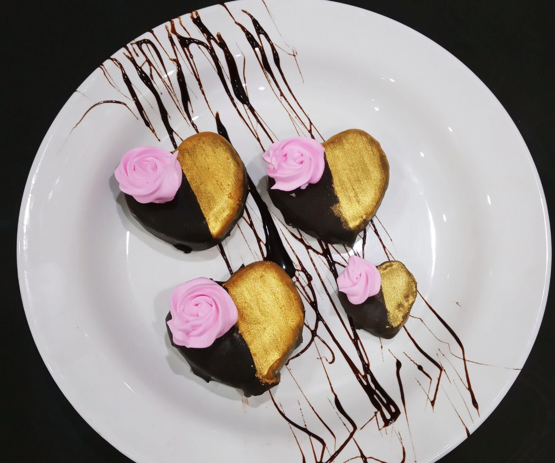 Pretty Hearts Chocolate Sandesh