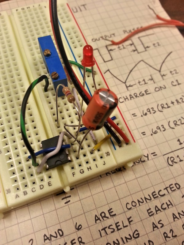 """Build Your Own """"Turbo Time"""" 555 Timer Demonstration"""