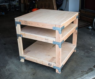 Configurable Table/Shelf/Bench With Generated Material and Cut Lists