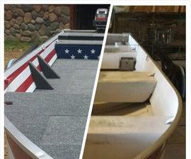 Aluminum Boat Fishing Conversation and Restoration