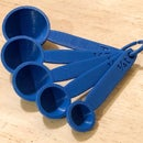 3D Printed Measuring Spoons
