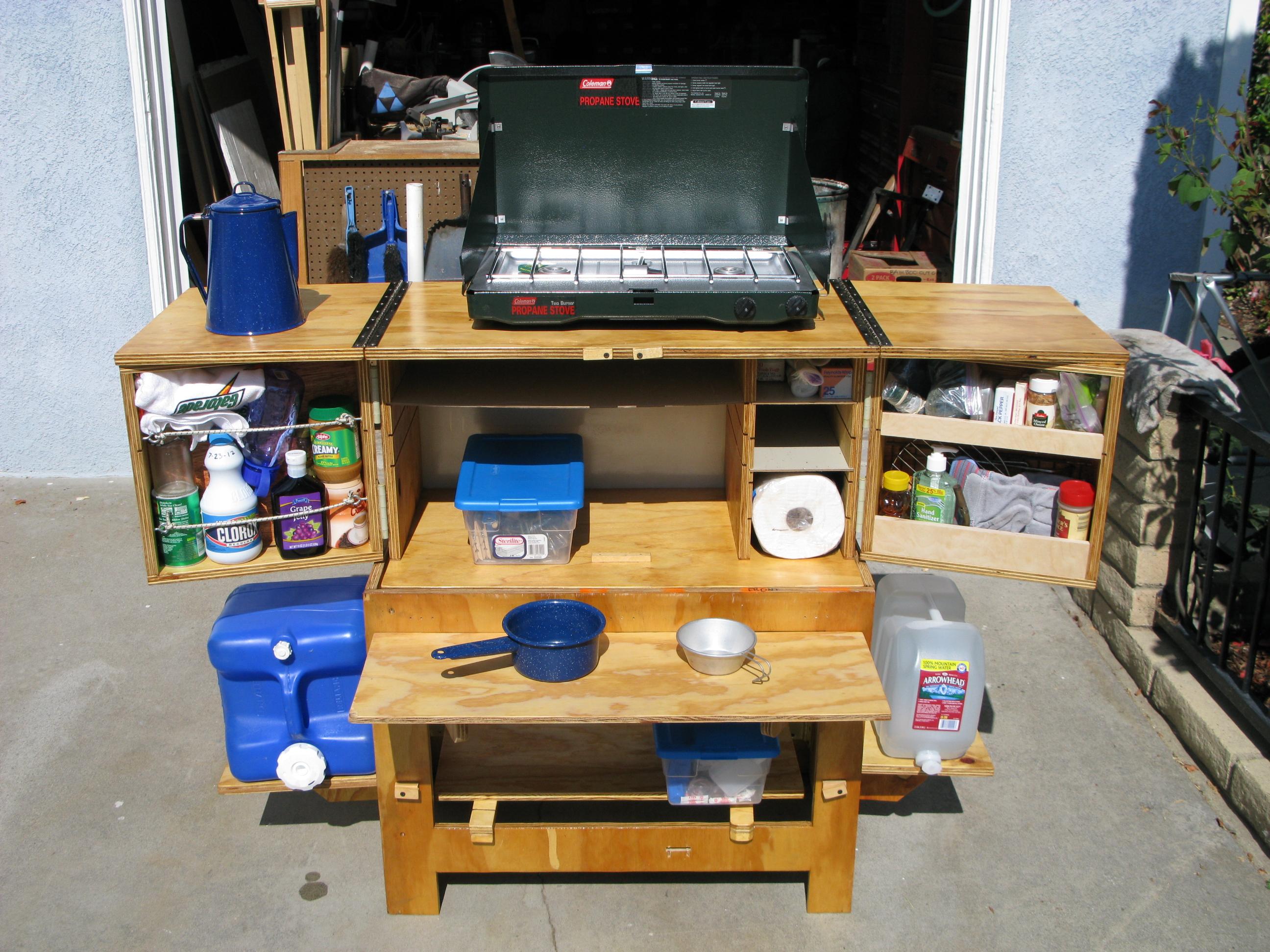 Chuck Box - Camp Kitchen