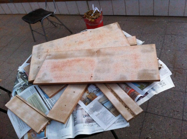 Sanding De Paper-decoration