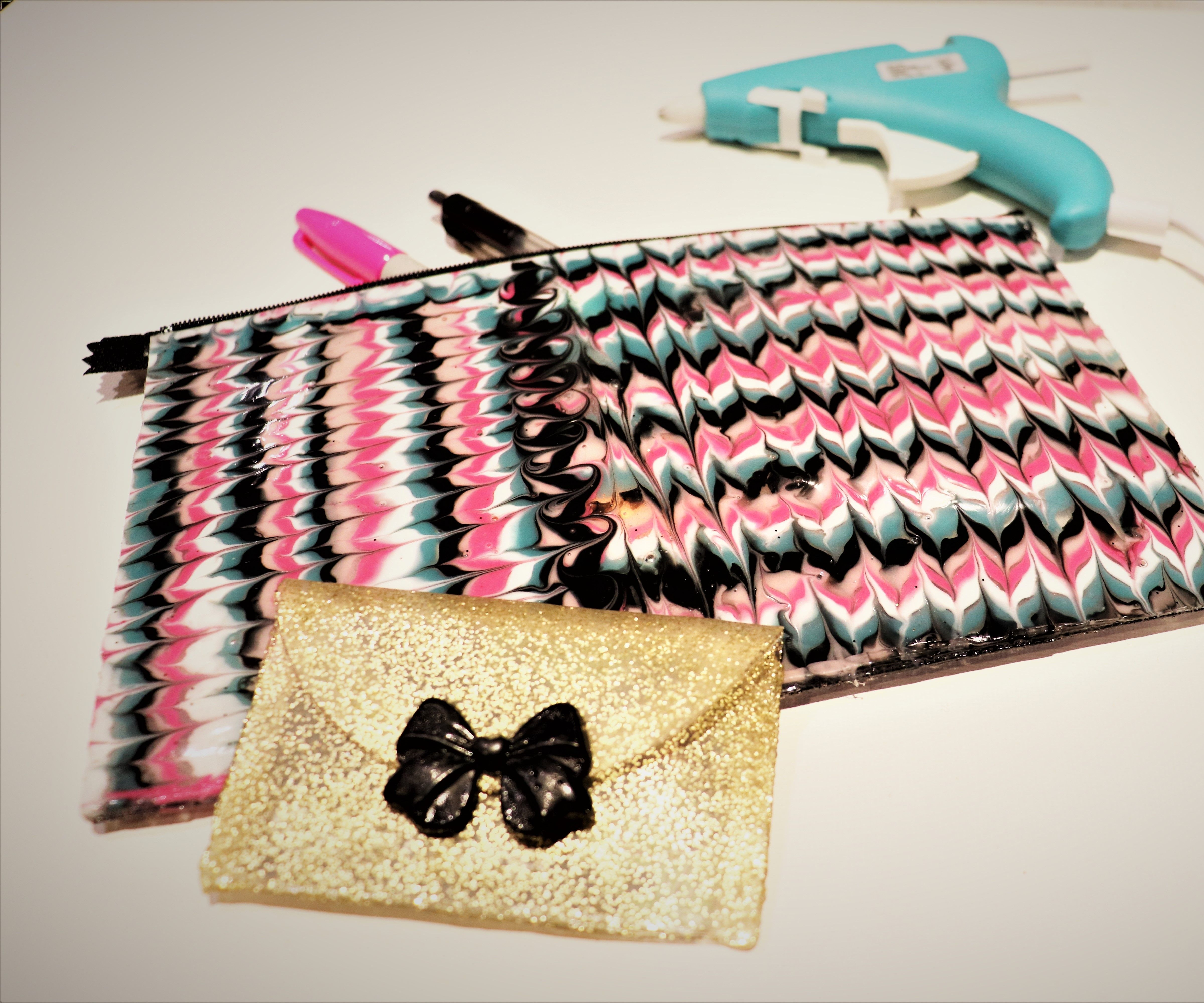 Oven and Iron Hot Glue Pouches