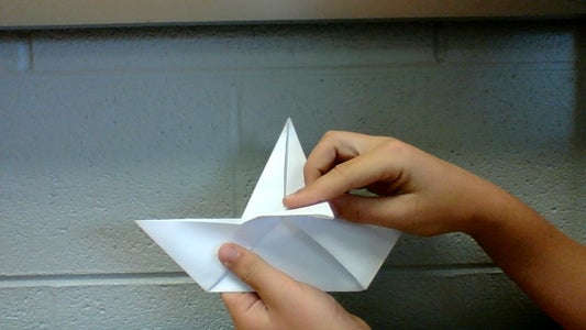Fold Each of the Points Down