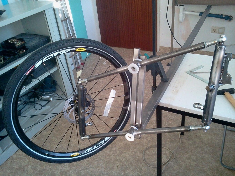 Building the Trike: Lean-steer Part